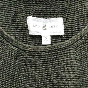Lou & Grey Tops - Lou & Grey Olive Green Sweater Tank